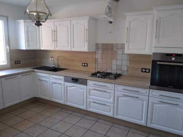 cuisine renovation laque blanche